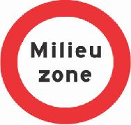 Gesloten voor vrachtauto's die niet voldoen aan de eisen, genoemd in artikel 86d