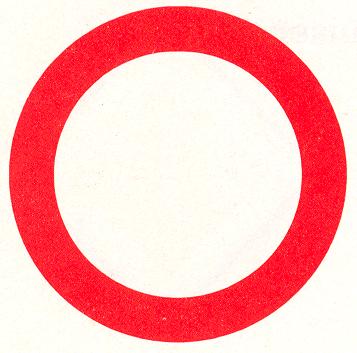 Gesloten in beide richtingen voor voertuigen, ruiters en geleiders van rij- of trekdieren of vee