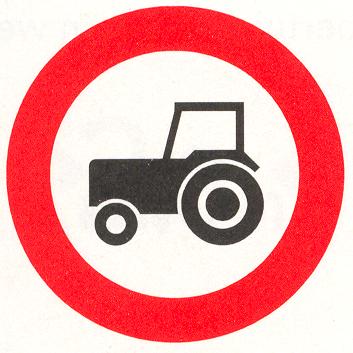 Gesloten voor motorvoertuigen die niet sneller kunnen of mogen rijden dan 25 km/h