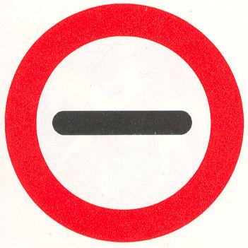 Stop. In het bord kan worden aangegeven door wie of waarom het bord wordt toegepast