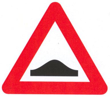 Let op: Verkeersdrempel